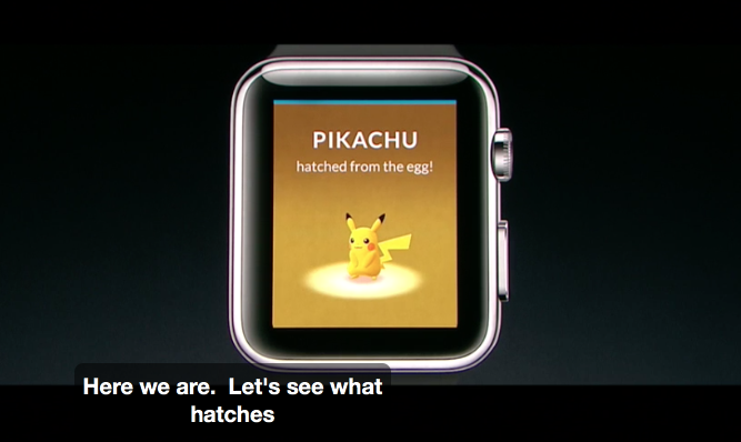 [Pokemon GO in wearable] Pokémon GO Plus and APPLE WATCH2 will be released on 9 / Month 16 (Fri)!