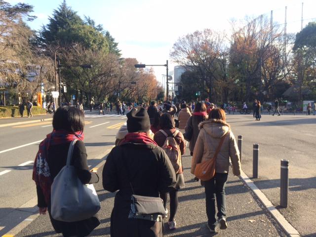 初散歩イベントを開催しました!(週刊 東京散歩ぽ12/9)