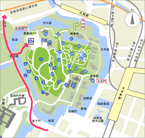 Let's go to see the private colored leaves! Fall of the Imperial Palace dry street is open