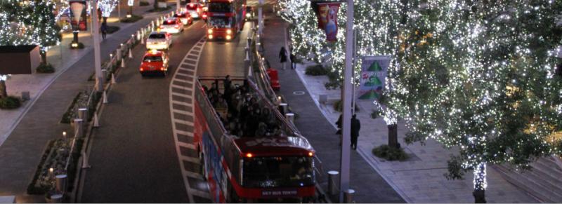 2階建てオープンバスで行ける東京イルミネーションバスツアーまとめ