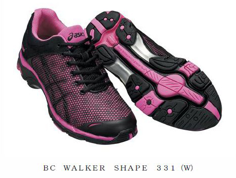 "Shape-up effect like walking uphill ""BC WALKER SHAPE"""