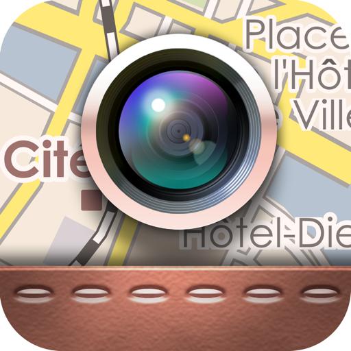 写真と地図を同時にシェアするiPhoneアプリ「チズカメラ」がアップデートで使いやすく!