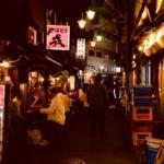 初夏の西荻窪駅前を #おじさんぽ 秋田バル〜スタミナつけすぎの夜