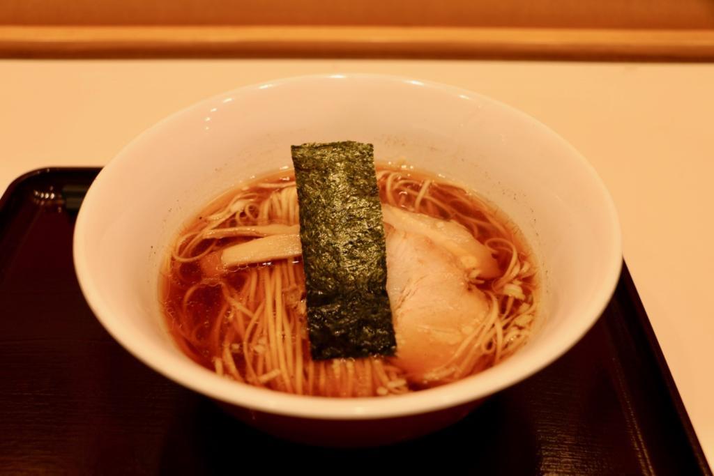 カドヤ食堂「中華そば」500円