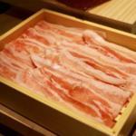 【銀座 しゃぶしゃき綾邸】発酵熟成させた宮崎県の綾ぶどう豚を食べくらべしてきた