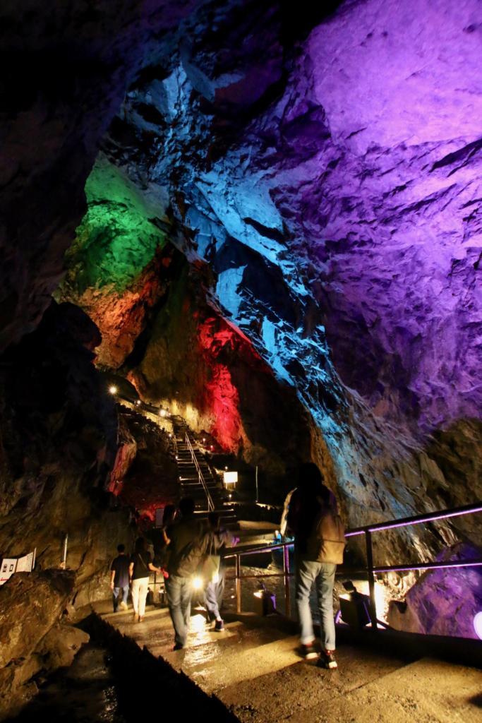 Mystical Sunlight Caves Light Up