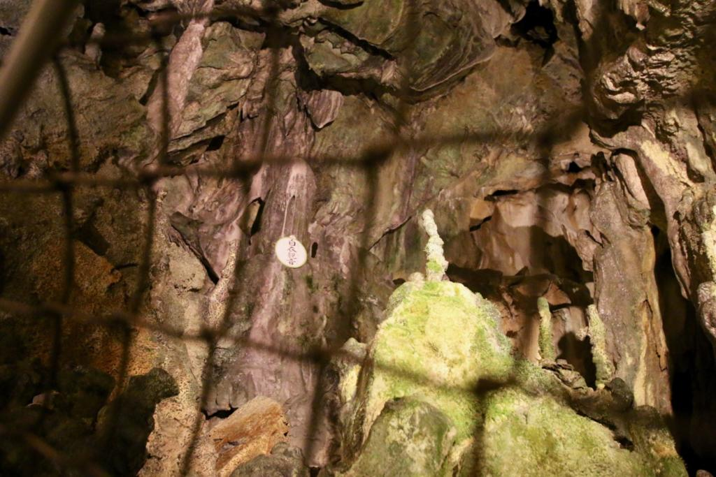 日原鍾乳洞の新洞、白衣観音