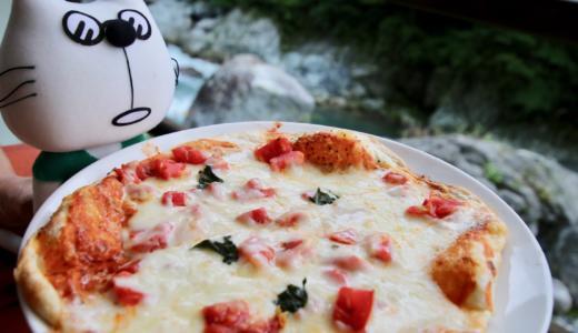奥多摩グルメ 渓流を眺めながらマルゲリータピザをいただきます!【PR】 #多摩の魅力発信プロジェクト #たま発 #tamahatsu #okutama