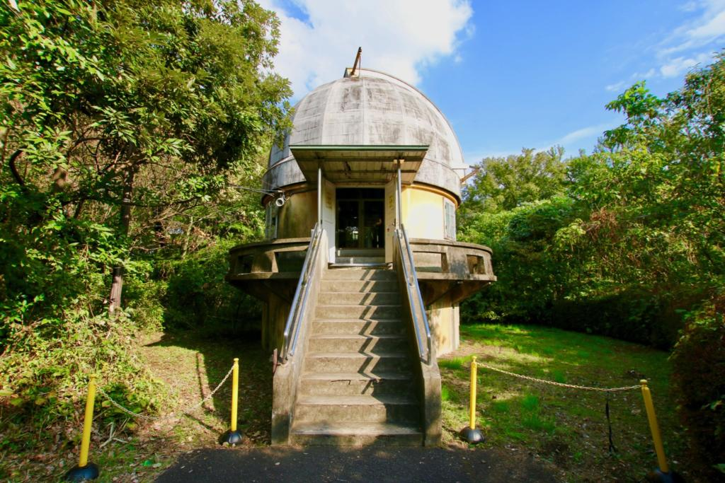 第一赤道儀室(国登録有形文化財・1921年建設)