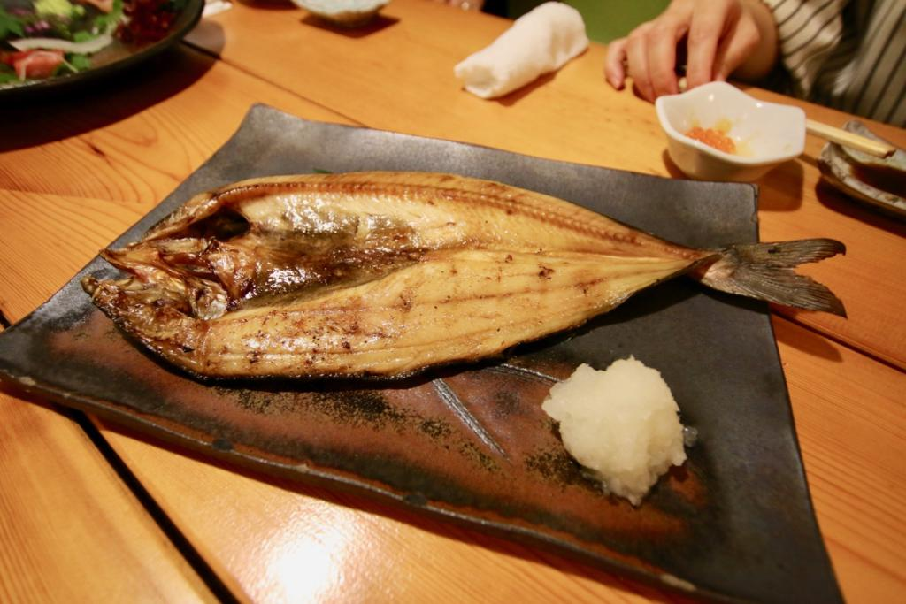 ホッケの焼き魚