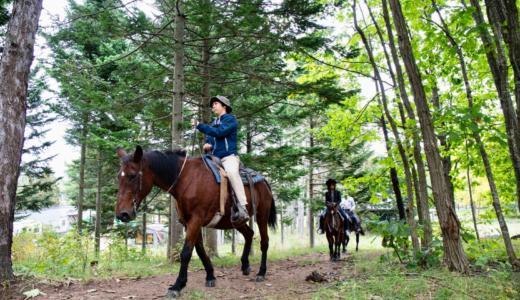 【北海道旭川】クラークホースガーデンで人生初の乗馬体験をした話【PR】 #元気です北海道