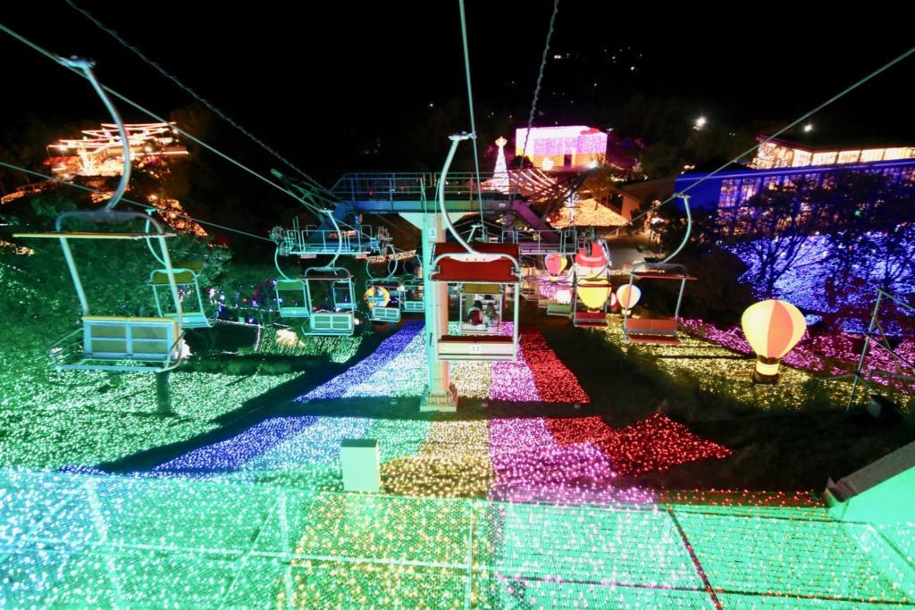 「虹のリフト」が下りが特にオススメ!