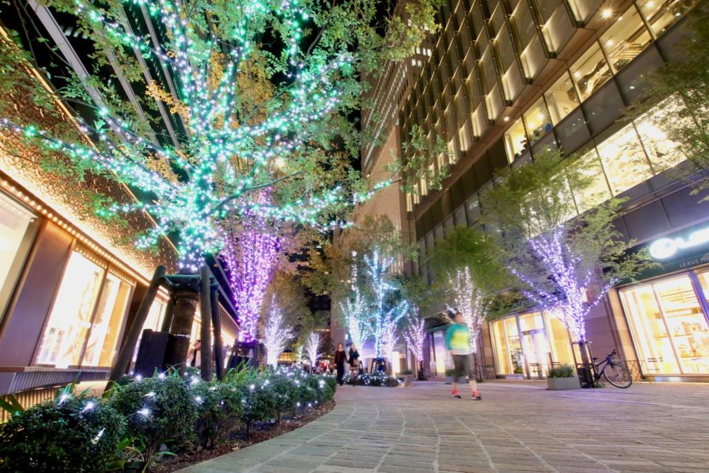 Hibiya area illumination