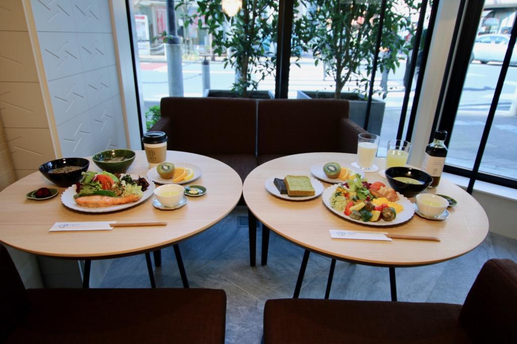 DELI&BAR1899 東京 朝食