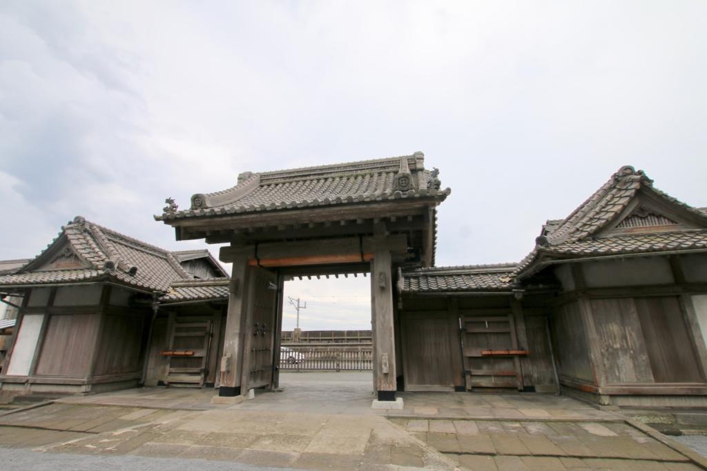 仙巌園の正門