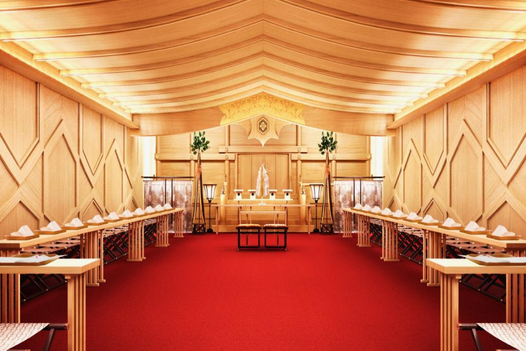 東京會舘 新本館 神殿 神前式