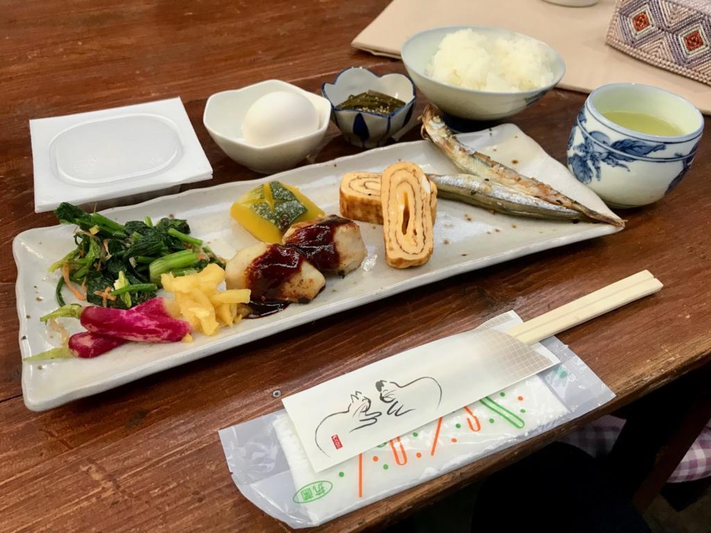朝食は500円!