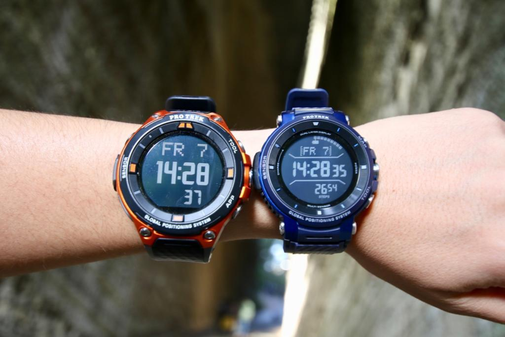 PRO TREK Smart WSD-F30 and WSD-F20