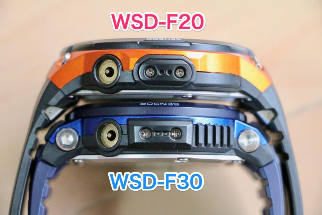 WSD-F30 and WSD-F20 microphones and charging terminals