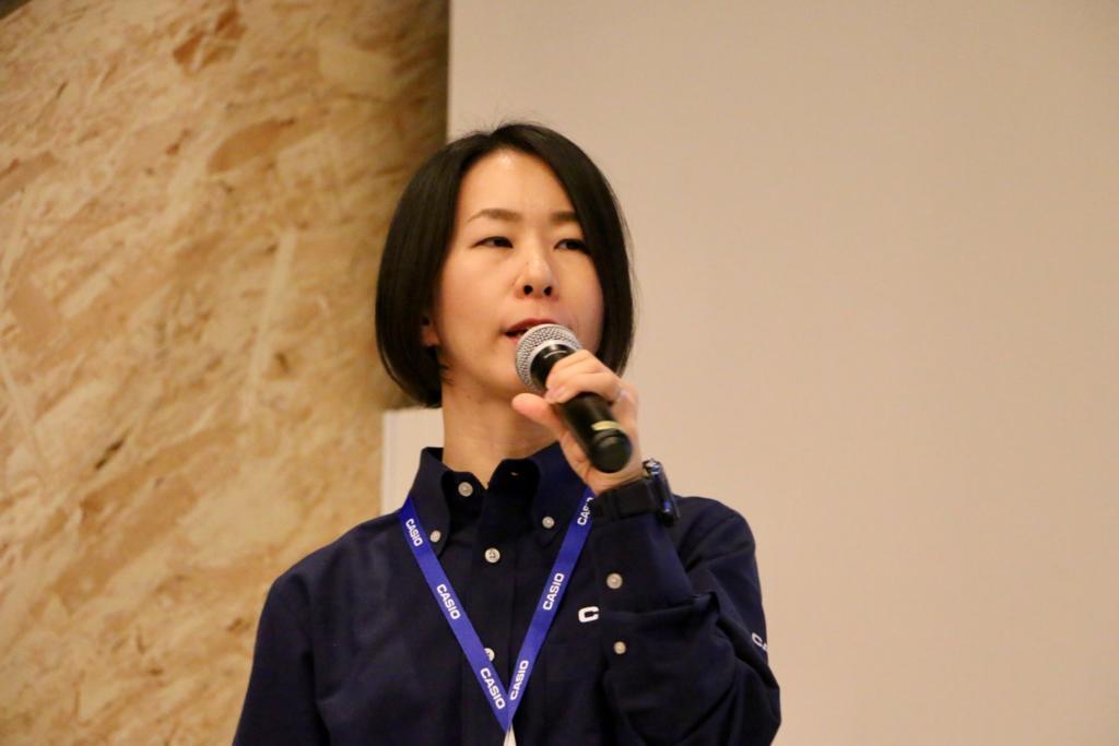 カシオ計算機開発部の岡田佳代さん