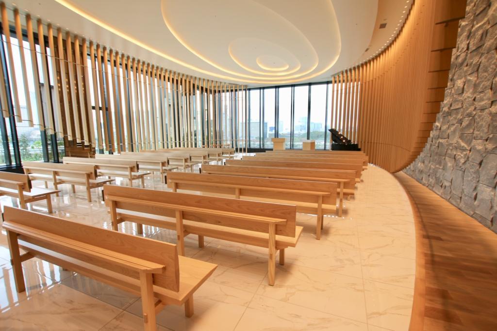 Tokyo Sakai New Main Building Chapel