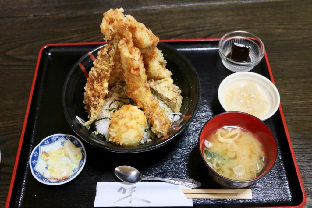 のぼり鶏天丼