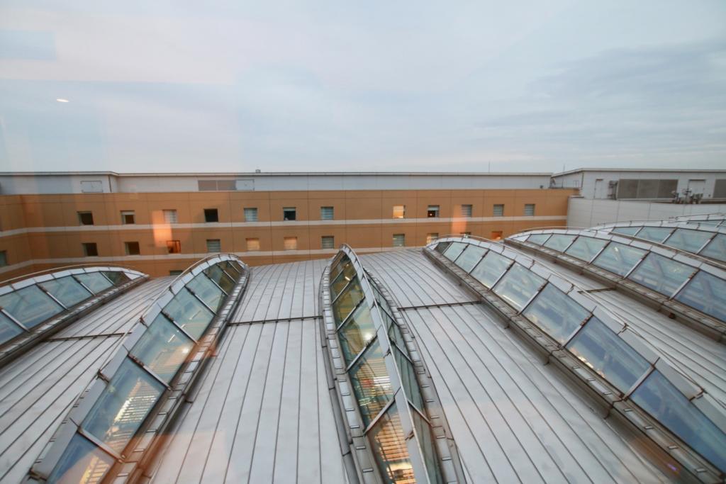 羽田エクセルホテル東急窓からの景色