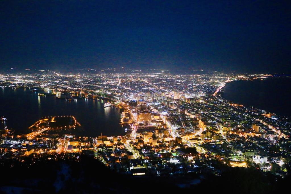 Mt. Hakodate night view