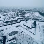 五稜郭「日本100名城に行こう」のスタンプ設置場所は2ヶ所ある