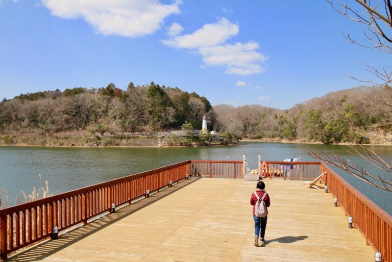 ムーミンテーマパークがある宮沢湖