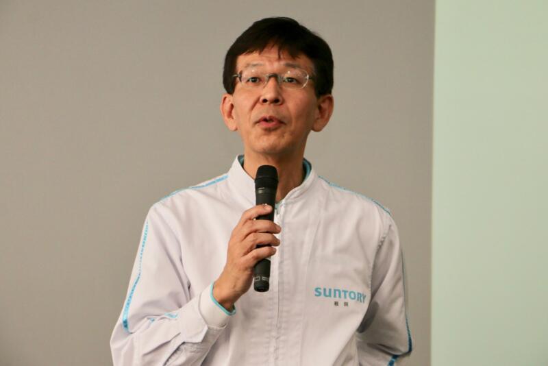 Suntory Brewery Co., Ltd. Tokyo-Musashino Brewery Factory Manager-Keisuke Katsura