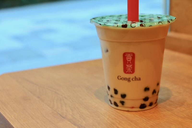 貢茶(Gong cha)のタピオカミルクティー