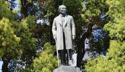 【新一万円札】日本橋エリアに渋沢栄一の銅像を発見!近くには貨幣博物館も