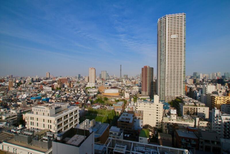 ONSEN RYOKAN 由縁 新宿 ラウンジからの眺め