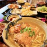 [Ryukyu cuisine Nuchigafu (Otsukukabo)] I get a soki lunch set at an old house in Ashiya and Yachimun Street