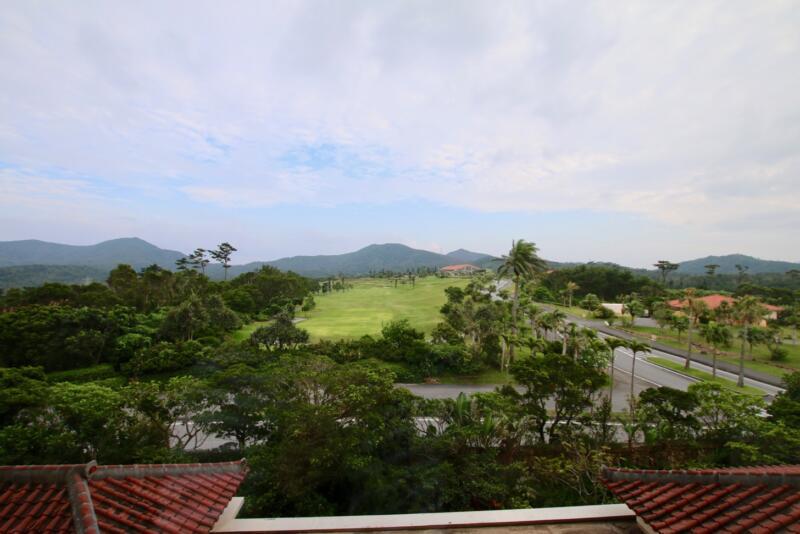 ザ・リッツ・カールトン沖縄 ベイデラックスルーム ベランダからの眺め