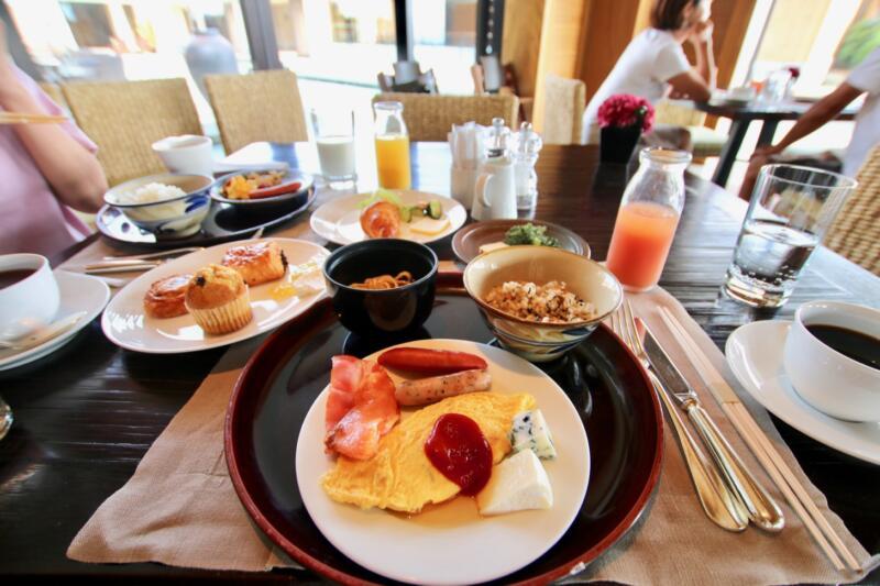 ザ・リッツ・カールトン沖縄の朝食