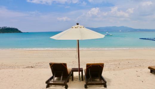 【宿泊記】ザ・リッツ・カールトン沖縄朝食レポ!館内さんぽでプールを発見、専用ビーチでピクニックランチした話
