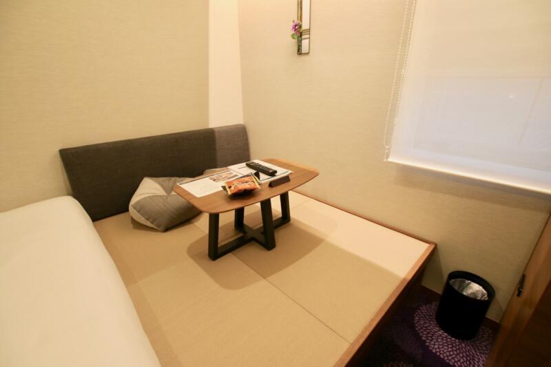 ホテル龍名館東京 畳敷きのスペース