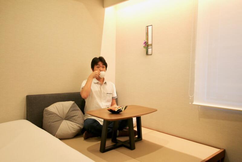 ホテル龍名館東京 ゆっくりお茶を楽しむ