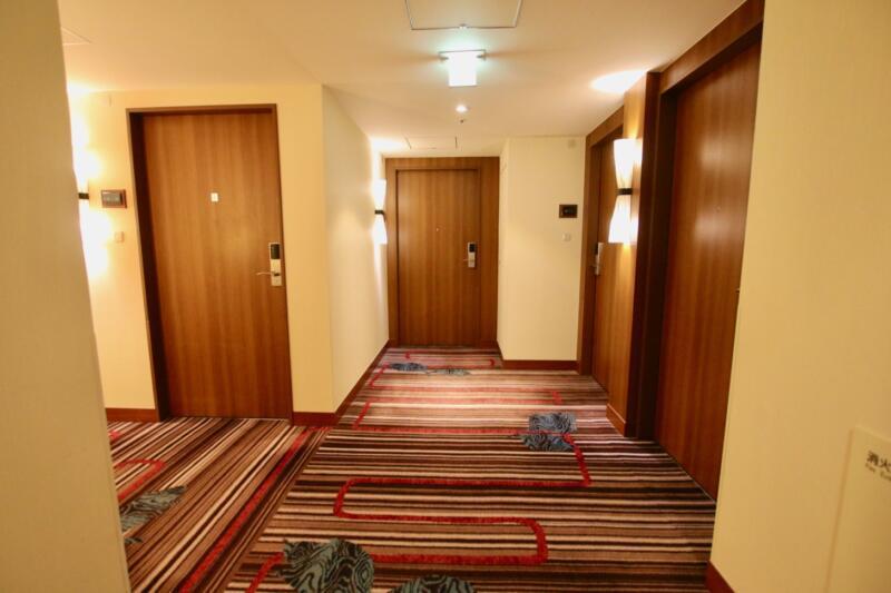 ホテル龍名館東京 部屋入口