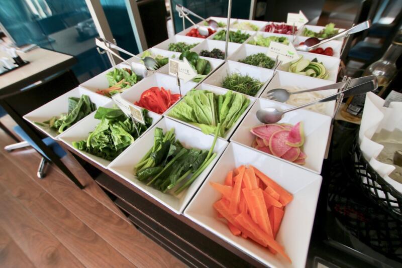 ホテル龍名館東京 希少性の高い江戸東京野菜を含む40種