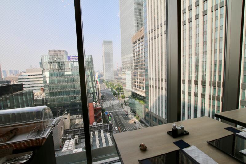ホテル龍名館東京 東京駅八重洲口の景色