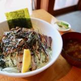 "Juicy shamisen with ""Fujinokuni Atagawa pork"" is delicious at Atagawa barbecue junjun (Jun Jun) # Higashi Izu PR"