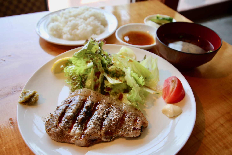 junjun ステーキ定食(1,400円税込)