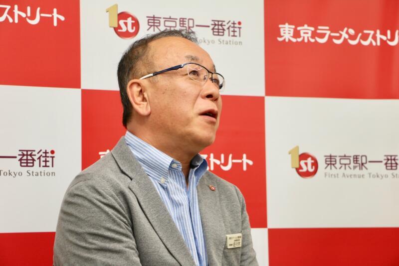 東京ステーション開発株式会社 佐々木義衛さん