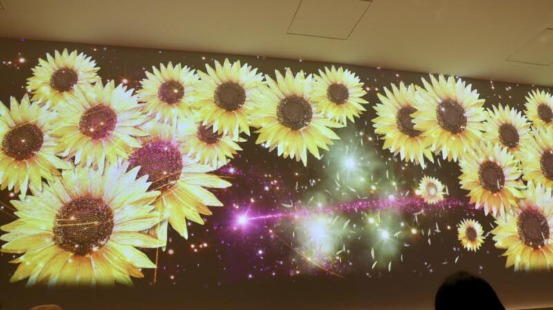 """Wind, water, flowers-Japanese summer"""