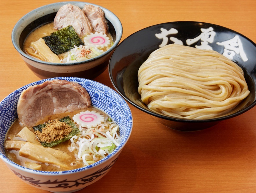 Rokushusha limited W set noodles