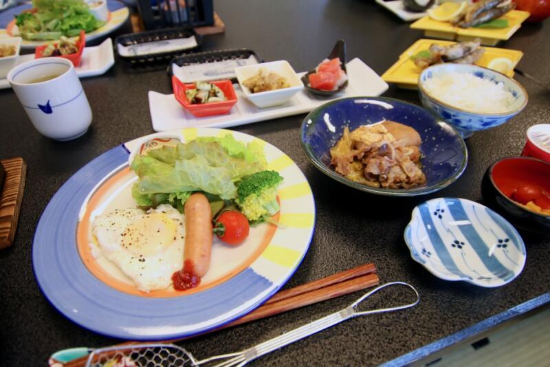 割烹旅館 天地閣の朝食