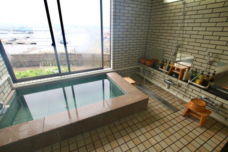 割烹旅館 天地閣のお風呂